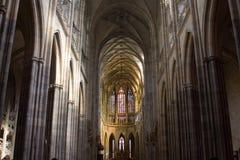 Catedral de Vitus de Saint Imagem de Stock Royalty Free