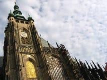 Catedral de Vitus del santo. Imagen de archivo libre de regalías