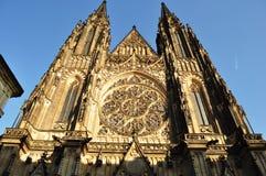 Catedral de Vitus del santo Imagen de archivo libre de regalías