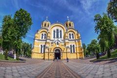 Catedral de Volodymyrs de Saint, Kiev Imagem de Stock