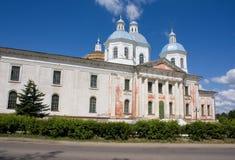 Catedral de Voskresensky, Kashin, Rússia foto de stock royalty free