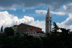 Catedral de Vrsar Imagen de archivo