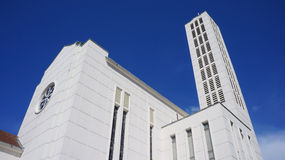 Catedral de Waiapu del estilo de Art Deco, Napier, Nueva Zelanda Fotografía de archivo
