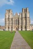 Catedral de Wells Fotografía de archivo libre de regalías