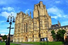 Catedral de Wells Fotos de archivo libres de regalías