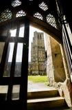 Catedral de Wells y luz directa de Sun Fotografía de archivo