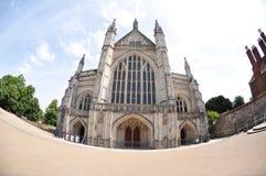 Catedral de Winchester Fotografía de archivo libre de regalías