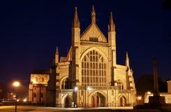 Catedral de Winchester Imagenes de archivo