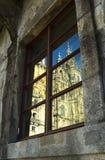 Catedral de Windows Imagens de Stock Royalty Free