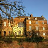 Catedral de Worcester fotografía de archivo libre de regalías
