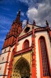Catedral de Wurzburg, Alemania Fotos de archivo