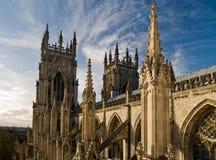 Catedral de Yorkminster imagenes de archivo