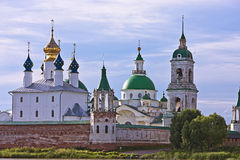 Catedral de Zachatievsky Monasterio del salvador de Yakovlevsky, Fotografía de archivo libre de regalías