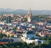 Catedral de Zagreb Imagem de Stock Royalty Free