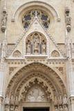 Catedral de Zagreb foto de archivo libre de regalías