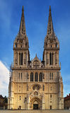 Catedral de Zagreb Fotografia de Stock Royalty Free
