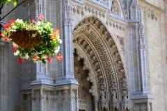 Catedral de Zagreb fotos de stock royalty free