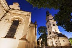 Catedral de Zamosc fotos de archivo
