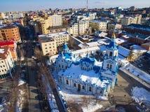 Catedral de Znamensky fotografía de archivo