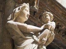 Catedral del Aix, Francia Foto de archivo libre de regalías