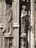 Catedral del Aix, Francia Imagen de archivo