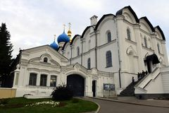 Catedral del anuncio en Kazan Kremlin Imagen de archivo