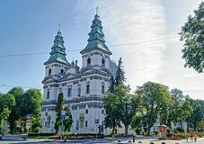 Catedral del arzobispado de la Inmaculada Concepción del Ble Fotografía de archivo