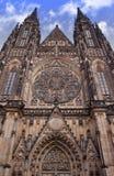Catedral del castillo de Praga Fotos de archivo libres de regalías
