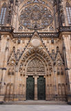 Catedral del castillo de Praga Imagenes de archivo