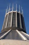Catedral del católico de Liverpool Imágenes de archivo libres de regalías