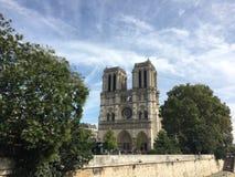 Catedral del católico del Notre-Dame de Paris imagenes de archivo