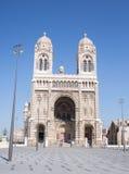 Catedral del comandante de Marsella imágenes de archivo libres de regalías
