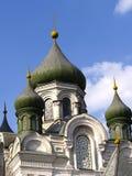 Catedral del cristianismo Foto de archivo libre de regalías