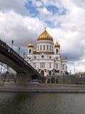 Catedral del Cristo el salvador, Moscú Imagen de archivo libre de regalías