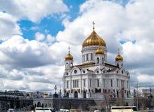 Catedral del Cristo el salvador, Moscú Foto de archivo libre de regalías