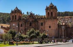 Catedral Del Cuzco, Plaza De Armas, Cusco, Peru Stockfoto