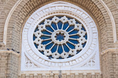 Catedral del Duomo de Cerignola. Puglia. Italia. Foto de archivo