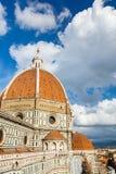 Catedral del Duomo en Florencia fotografía de archivo libre de regalías