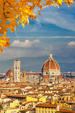 Catedral del Duomo en Florencia foto de archivo libre de regalías