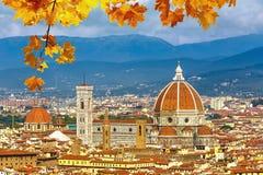 Catedral del Duomo en Florencia imagen de archivo libre de regalías