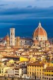 Catedral del Duomo en Florencia imágenes de archivo libres de regalías