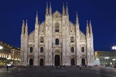 Catedral del Duomo en Milano, Italia Imagen de archivo libre de regalías