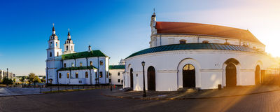 Catedral del Espíritu Santo en Minsk Fotografía de archivo