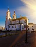 Catedral del Espíritu Santo en Minsk Fotos de archivo