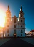 Catedral del Espíritu Santo en Minsk Imagen de archivo libre de regalías