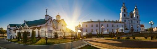 Catedral del Espíritu Santo en Minsk Foto de archivo