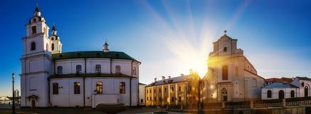 Catedral del Espíritu Santo en Minsk Imagenes de archivo
