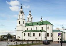 Catedral del Espíritu Santo, Minsk, Bielorrusia Foto de archivo libre de regalías