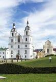 Catedral del Espíritu Santo, Minsk, Bielorrusia Fotos de archivo libres de regalías
