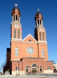 Catedral del Green Bay Fotografía de archivo libre de regalías
